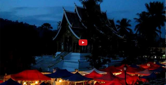 The-Night-Market-in-Luang-Prabang